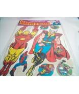 Marvel stickers 1977 IRON MAN ,THOR ,THE HULK - $297.00