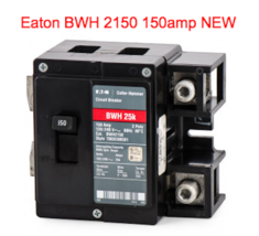 EATON  Cutler Hammer BWH2150 Circuit Breaker 2POLE 150A NEW IN BOX - $126.23