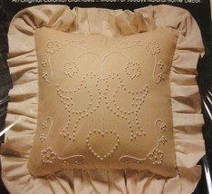 Valiant Birds & Heart Sealed Candlewicking Pillow or Picture Kit 14x14 V... - $17.95