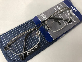Foster Grant Hyperflex + Reading Glasses With Case +1.50 - $11.50