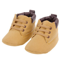 Baby Boy Size 2 Infant First Walkers Baby Martin Boots Anti-slip Soft So... - £5.24 GBP
