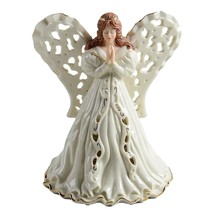 Lenox Angel Figurine Votive of Fine China w/24k Gold-$120 Value-NEW-Cand... - $55.00