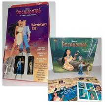 1995 Disney's Pocahontas Adventure Kit Payless Promo Book Stickers Figur... - $9.90