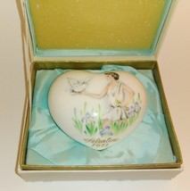 EXCELLENT BOXED USED NORITAKE 1973 BONE CHINA HEART LIMITED EDITION - $9.79