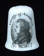 Thimble Mozart Anniversary 1756-2006 Bone China England Famous Composer ... - $12.00