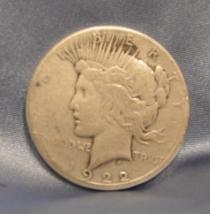 1922 D 90% Silver Peace Dollar   11201805 - $23.00