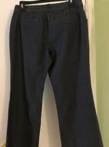Ann Taylor LOFT Julie Dress Pants Size 8 Black Gray Striped Career - $14.84