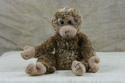 TY Beanie Babies Bonsai The Monkey 2002 Retired Plush Stuffed Animal c41a8e5aab1c