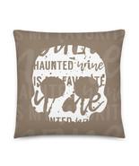 Skull Pillow, Grunge Pillow, Rocker Pillow, Horror Pillow, Gift, Wine, Ghost, Br - £25.87 GBP - £31.36 GBP