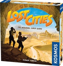 Lost Cities - The Card Game Family Fun Board Kosmos Games - $25.55