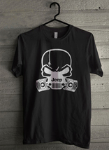 Jeep Skull Gas Mask Hardcore Piston - Custom Men's T-Shirt (320) - $19.13+