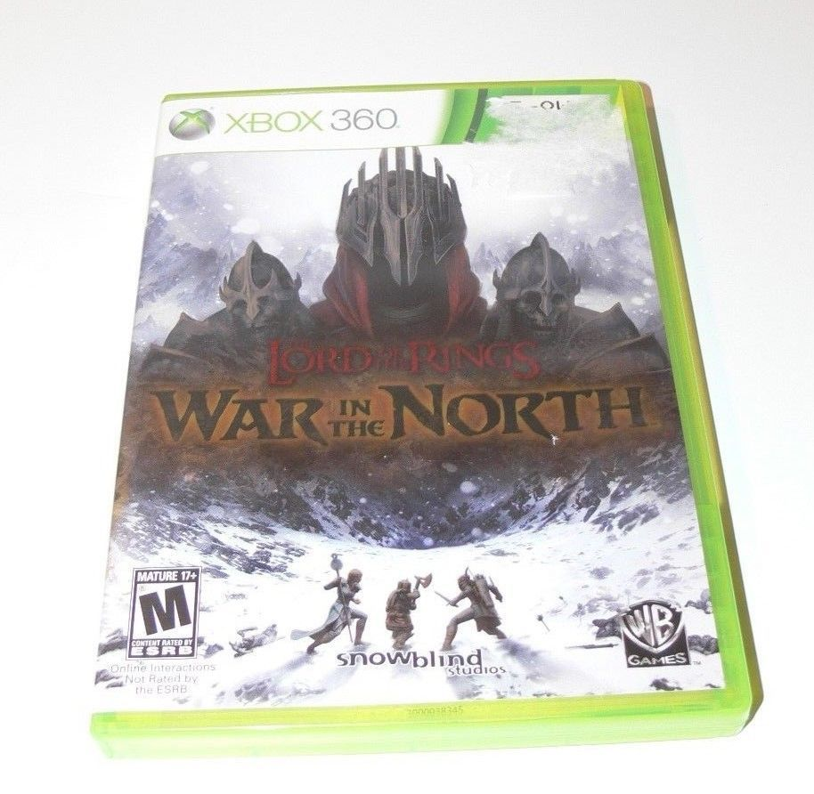 Lord of the Rings: War in the North (Microsoft Xbox 360, 2011)