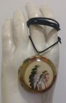 The Chief Orgone Pendant  With Carnelian Semi- Precious Gemstone - $29.99
