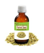 Fennel Seed Oil- Pure Natural Essential Oil- 50ml Foeniculum vulgare by ... - $29.45