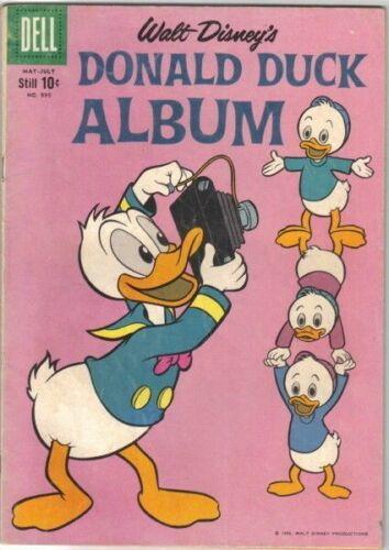 Donald Duck Album Four Color Comic Book #995 Dell Comics 1959 VERY GOOD+