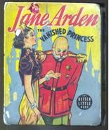 Jane Arden The Vanished Princess #1498 1938-Big Little Book-VG - $49.66