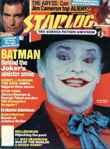 Starlog Magazine #146, 1989 Batman Movie/The Abyss NM - $5.90
