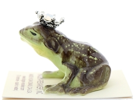 Hagen-Renaker Miniature Frog Prince Kissing Birthstone 10 October Opal image 4