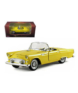 1955 Ford Thunderbird Convertible Yellow 1/32 Diecast Car Model by Arko Products - $28.74