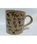 3 May Keep A Secret Pearson's Of Chesterfield Coffee Mug 1810 Vintage St... - $24.99