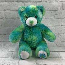 Build A Bear Flower Daisy Plush Green Blue Friend Fur All Seasons Summer... - $16.66