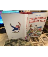 The Basement Baseball Club -HCDJ SIGNED By Kelly, Jeffrey - 1987 3rd ed - $9.89