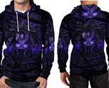 Black panther purple neon hoodie fullprint men thumb155 crop