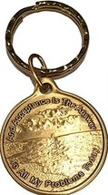 Acceptance Is The Answer Beach Sunrise Bronze Keychain AA Page 449 417 - $6.92