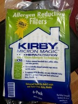 For KIRBY VACUUM BAGS:6 Sentria UNIVERSAL~ F Style MICRON MAGIC Hepa White Cloth