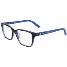 NEW Calvin Klein CK19506 419 Crystal Slate Blue & Blue Eyeglasses 51mm w/CK Case - $123.70