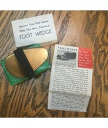 VINTAGE FOOT WEDGE GOLF ACCESSORY  - $49.49