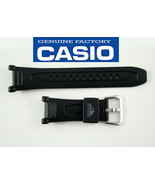 Genuine CASIO PATHFINDER 21mm WATCH BAND Strap BLACK  PAG-240  PAG-40 Bl... - $23.75