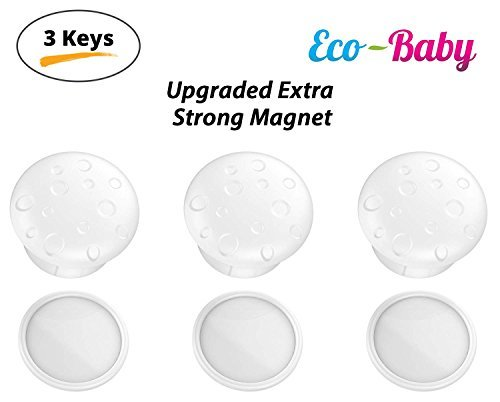 Universal Replacement Keys for Magnetic Cabinet Locks Child Safety for Drawers a