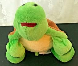 "GANZ Webkinz Plush Bean Bag Turtle 9.5"" Nose to Tail - No Code - $11.39"