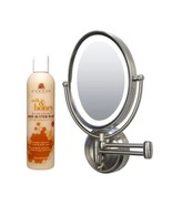 Zadro Lighted Oval Wall Mounted Makeup Mirror Cuccio Milk and Honey Body... - $128.69