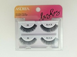 Andrea Two-of-a-Kind (Twin Pack) #33 BLACK Lashes  - $7.49