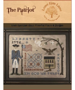 The Patriot cross stitch chart Lone Elm Lane - $10.00