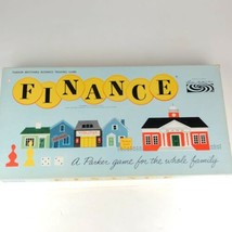 Vintage Finance Board Game No. 100 1958 Parker Brothers Business Trading - $19.79