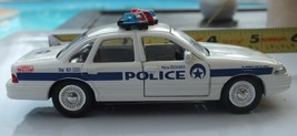 Road Champs 1997 New Orleans Police Ford Crown Victoria Die Cast Car 1/43 Scale - $11.99