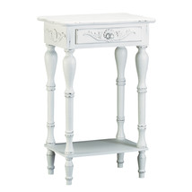 Carved White Side Table 10034353 - $75.39