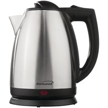 Brentwood 2l Stainless Steel Electric Cordless Tea Kettle BTWKT1800 - €34,96 EUR