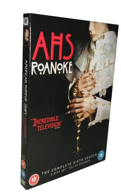 American Horror Story Roanoke Complete Season 6 DVD Box Set 3 Disc Free Shipping