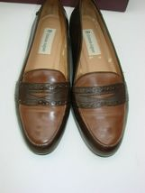 EUC Etienne Aigner Women's Two Tone  Slip on Loafer Casual, Career Size 81/2M image 8