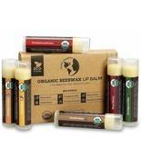 Organic Beeswax Lip Balm Chapstick Eco-Friendly 6 Pack Set Mint Coconut ... - $25.00