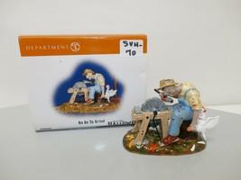 """Dept 56 Snow Village Halloween """"An Ax To Grind"""" Figurine #804456 - $14.84"""