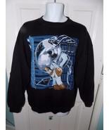 Vintage 1996 Black Sweatshirt NFL Carolina Panthers Size L Unisex Adults... - $24.07
