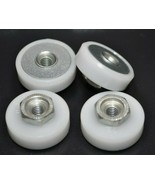 Lot of 4 Sliding Shower Door Square Rollers for Sterling 600C/1000C Series  - $14.54