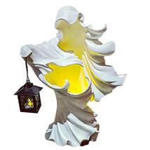 Hell's Messenger Lantern Faceless Ghost Halloween Statue Decor Light Orn... - £22.53 GBP