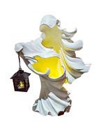 Hell's Messenger Lantern Faceless Ghost Halloween Statue Decor Light Orn... - $30.99