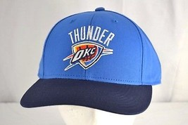 Oklahoma City Thunder Blue/Black Baseball Cap Adjustable - $21.11
